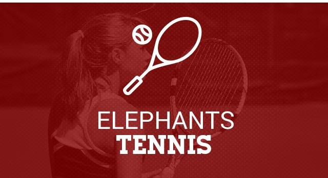 Red Elephant Girls Tennis Battle In Round One Of State Tournament