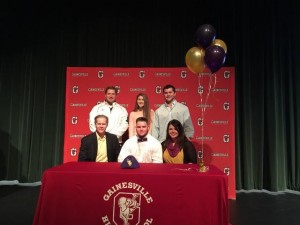 Jonathan Gettys signing day 2015