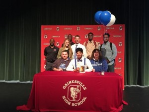 Demarcus Simonds signing day 2015
