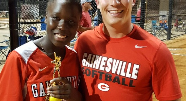 GMS Softball Player Named To Hall County Middle School Softball Team