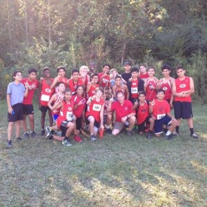 GMS Boys Cross Country First Place at UNICOL MOUNTAINS INVATIONAL 2016
