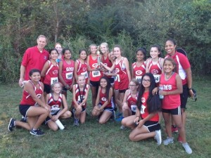 GMS Girls Third Place at UNICOL MOUNTAINS INVITATIONAL 2016