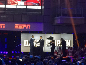 Deshaun Watson interview winning the O'Brien Award