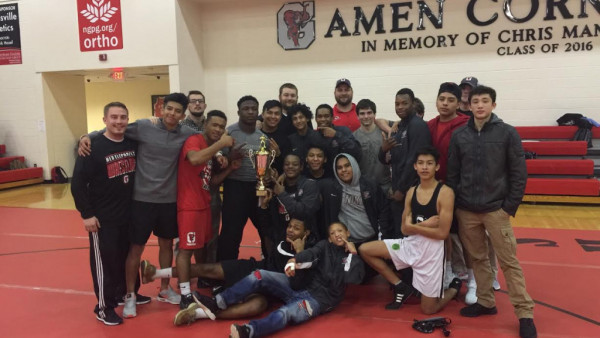 Second Place Area Duals 2016-2017