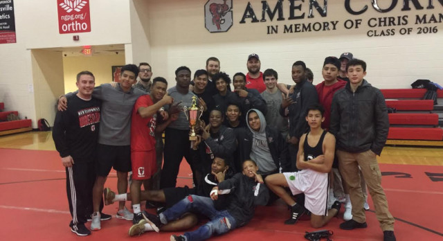 Gainesville Wrestlers Place Second In Area Duals