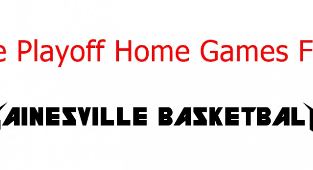 State Playoff Round One Games At Gainesville