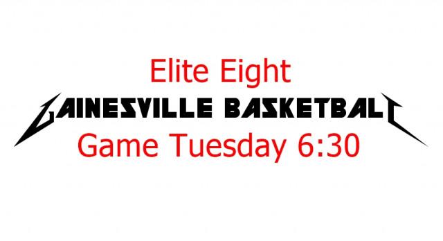 Gainesville Boys Basketball Hosting Elite Eight Game Tuesday