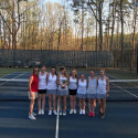 Girls Tennis 2016-2017 School Year