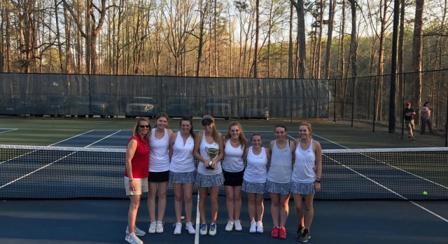 Gainesville Girls Tennis Region Champs