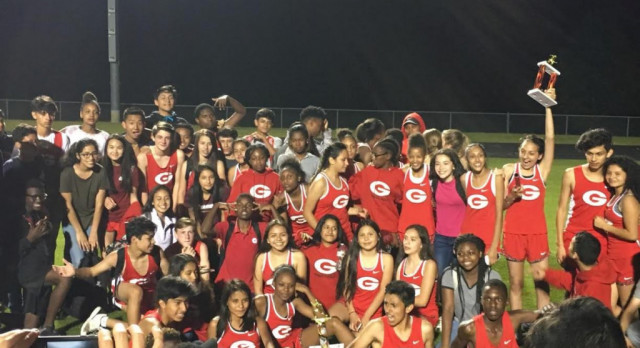 Gainesville Middle School Hall County Track Champions
