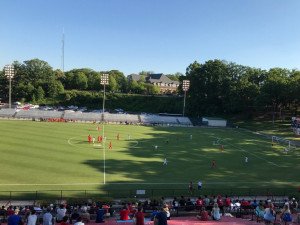 Gainesville vs Dalton underway