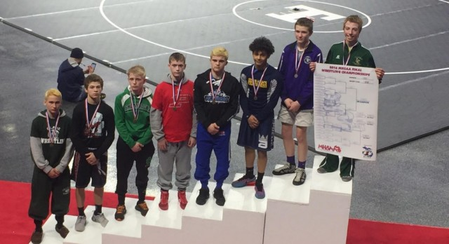 CONGRATULATIONS ELI SOUTHERN – 3RD PLACE STATE WRESTLING FINISH!