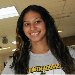 Volleyball in the NEWS! Honoring Mya Jordan for her for 1000 career kills!