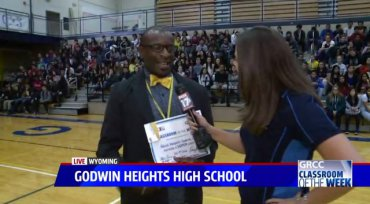 Mr. Morgan – Fox 17 Classroom of the Week!