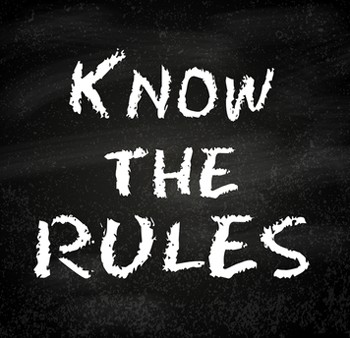 know-the-rules-sign