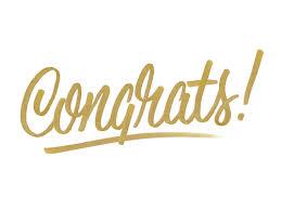 Lamar, Markeese & Christian – Congratulations!