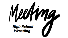 HS Wrestling Meeting – Monday, October 16th @ 3:15