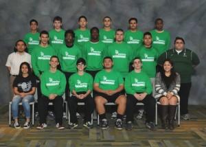 Wrestling Squad Varsity 2015