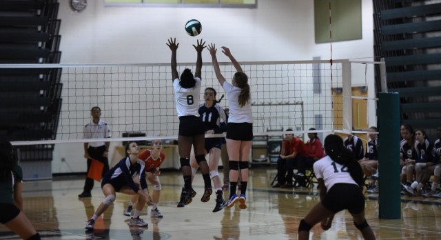 Varsity Volleyball Advances to Region 5A-North Tournament – First Time EVER