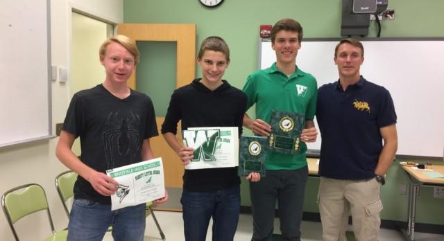 Congrats to the Fall Sports Award Winners!