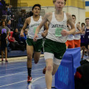 Boys Track Leading the Pack