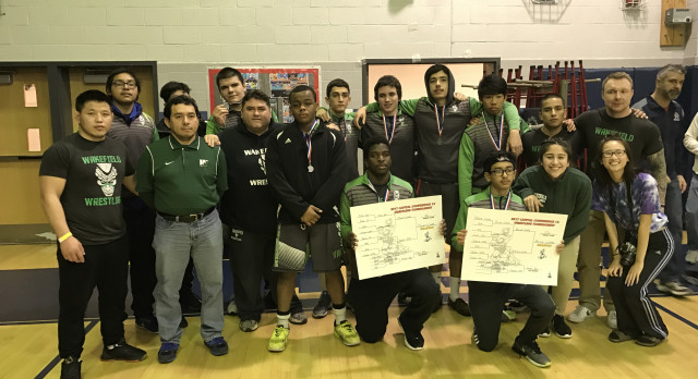 Wakefield High School Coed Varsity Wrestling finishes 4th place