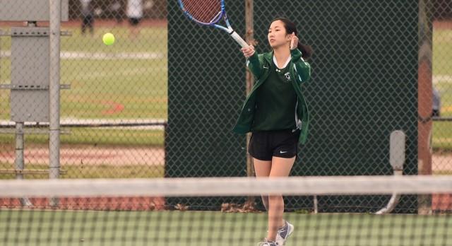 Wakefield High School Girls Varsity Tennis falls to Washington Lee High School 8-1