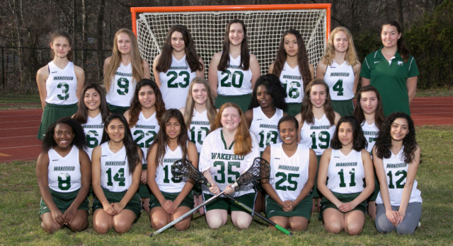 Wakefield High School Girls Varsity Lacrosse beat Stuart 18-8