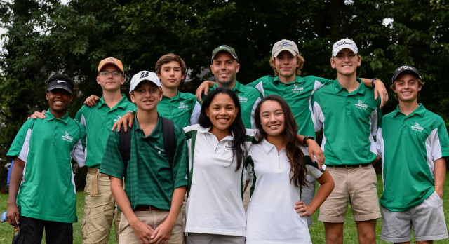 Wakefield Varsity Golf at National District Tourney