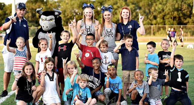 Introducing for 2017-18, the JR. BULLS CLUB – The Official Kids Club of HRHS Athletics