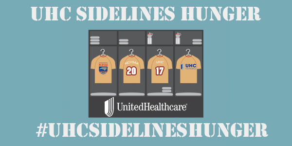 Help HRHS Athletes #Compete in the NCHSAA-UHC Sideline Hunger Food Drive – And Help us Win! Donate 9/8 through 9/15