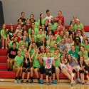 Images from Middle School Volleyball Clinic at Olivet College