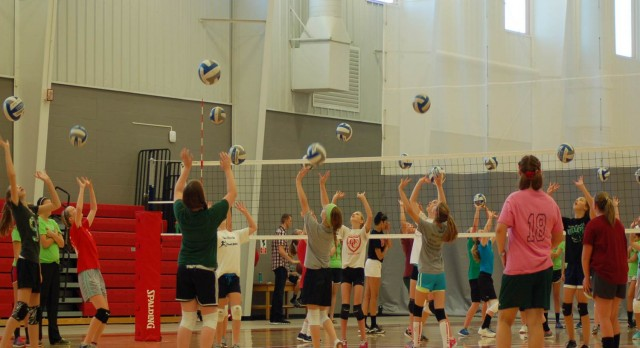 Middle School Volleyball Tryouts Set for Sept. 1-3