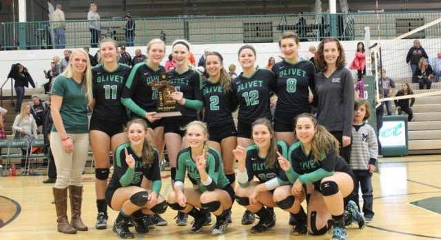 Spikers' District Crown is No. 4 Sports Story of 2015-16