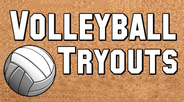 Image result for volleyball tryouts