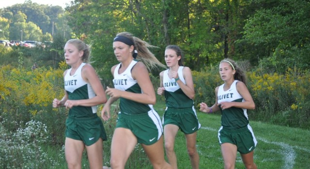 Girls' XC Squad Rolls to Another Invite Championship