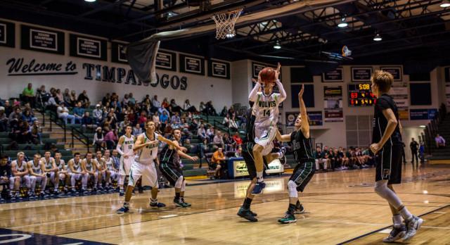 Timpanogos High School Boys Varsity Basketball beat Payson High School 83-55