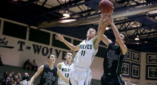 Daily Herald article about Boys Basketball vs Payson