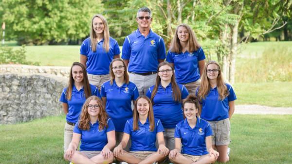 girls golf - 2017