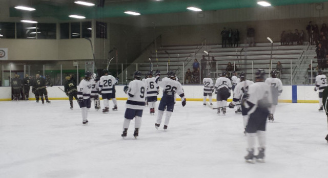 Falcons Hockey Scrimmage