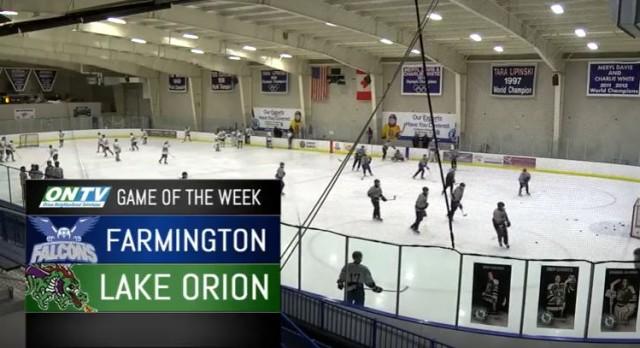 Farmington Falcons Hockey vs Lake Orion ONTV