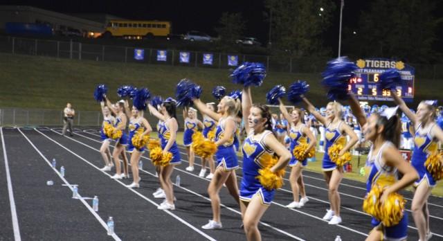 Tiger Cheerleaders!!!!!