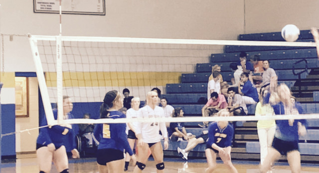 Tiger Volleyball Hosts East Burke Saturday
