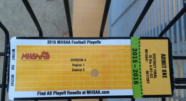 Forest Hills Eastern High School Varsity Football beat Comstock Park HS/MS 21-13