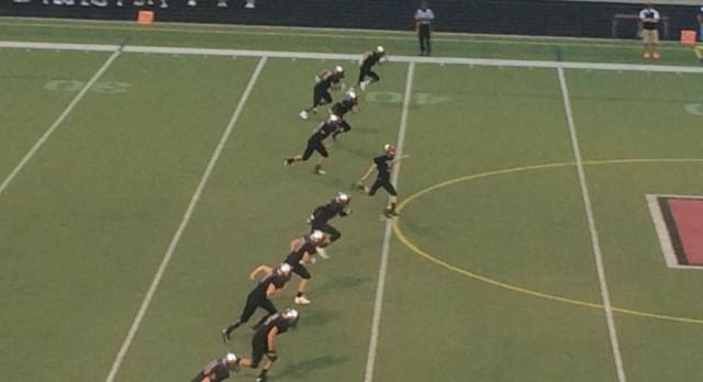 Forest Hills Eastern High School Varsity Football beat Thornapple-Kellogg High School 26-23