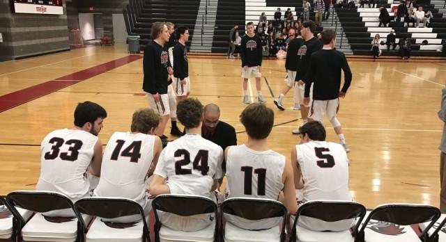 Forest Hills Eastern High School Boys Varsity Basketball falls to Hamilton High School 69-55