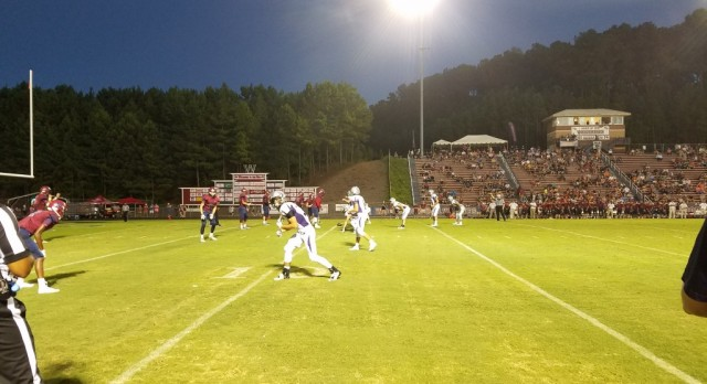 Raiders Blown Out at Woodstock
