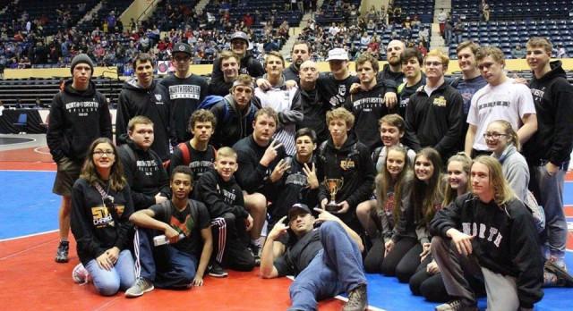 Raider Wrestling Finishes Third at State Duals