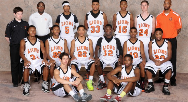 Orange High School Basketball Varsity Boys beats Saint Martin De Porres High School 56-43