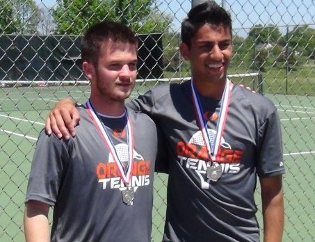 Varsity Doubles Team going to States